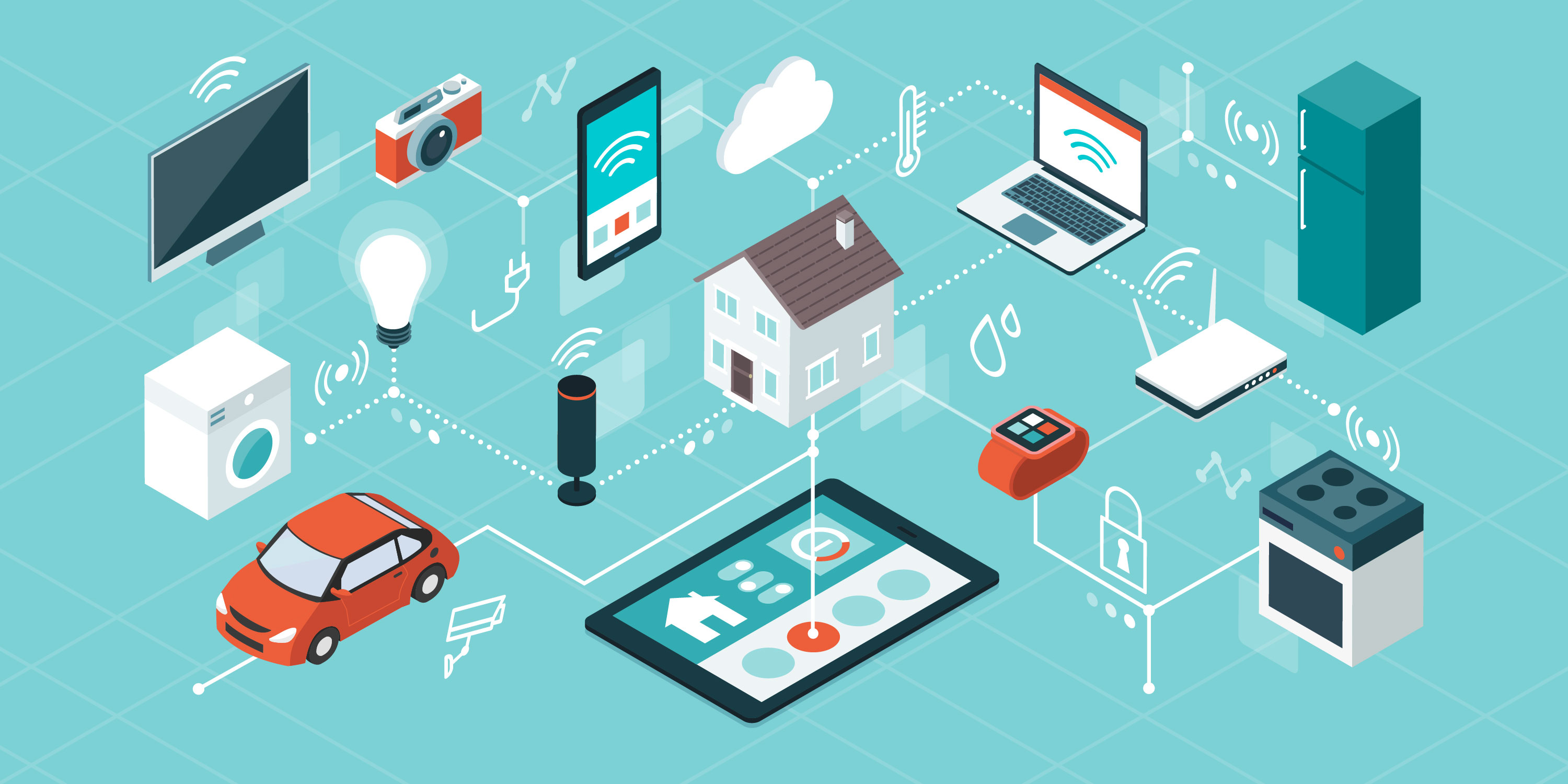 a smart home consists of compatible devices
